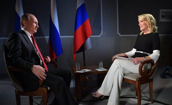 Интервью Путина NBC