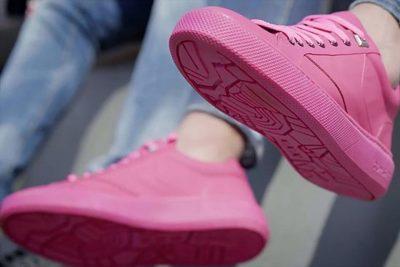 Созданы кроссовки из переработанной жевательной резинки