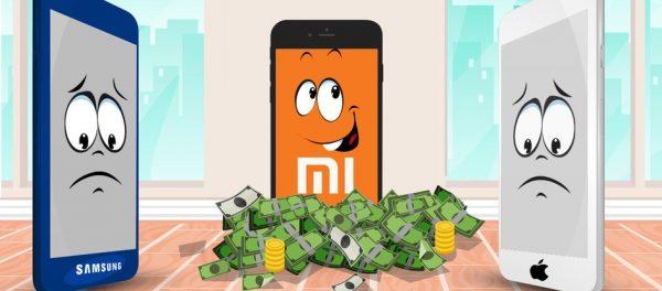 Смартфоны Xiaomi обогнали по продажам Iphone