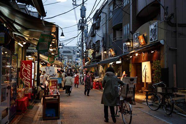 Район Янака в Токио